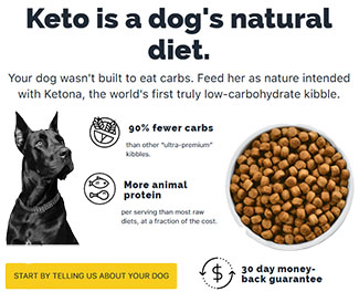 keto for dogs